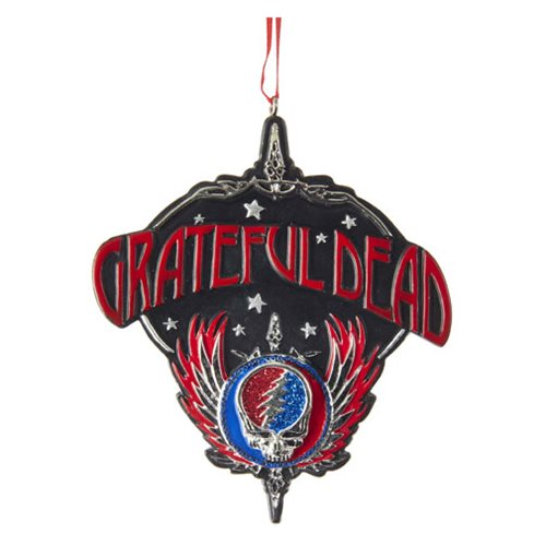 Grateful Dead Wings 4-Inch Resin Ornament
