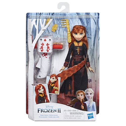 Frozen 2 Sister Styles Anna Fashion Doll