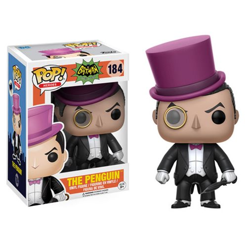 Batman 1966 TV Series Penguin Pop! Figure, Not Mint