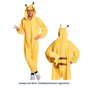 Pokemon Pikachu Onesie Costume