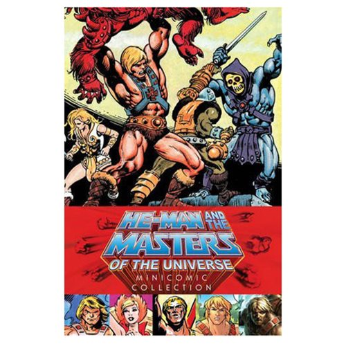 He-Man and the Masters of the Universe Minicomic Collection Hardcover Book