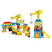 Mega Bloks Bob the Builder Work Yard Build-Up Set