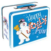 Frosty the Snowman Fun Box Tin Tote