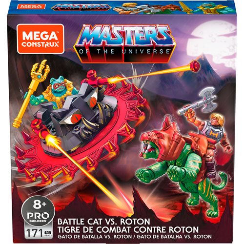 Mega Construx Masters of the Universe Battle Cat Vs. Roton Playset