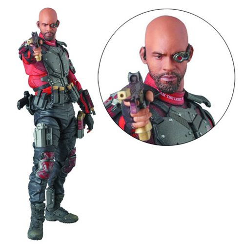 Suicide Squad Deadshot MAF EX Action Figure - Previews Exclusive