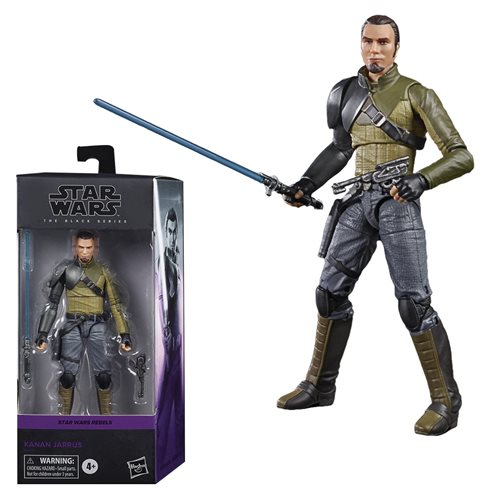 Star Wars The Black Series Kanan Jarrus 6-Inch Action Figure