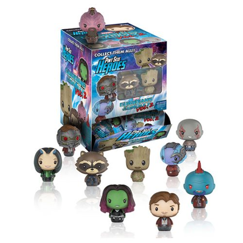 Guardians of the Galaxy Vol. 2 Pint Size Heroes Display Case