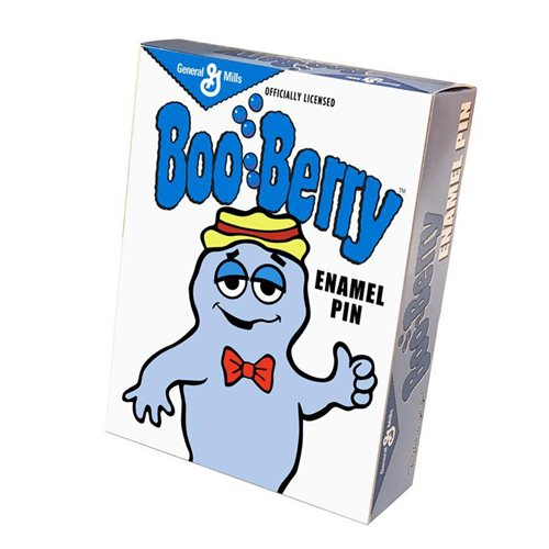 General Mills Boo Berry Enamel Pin
