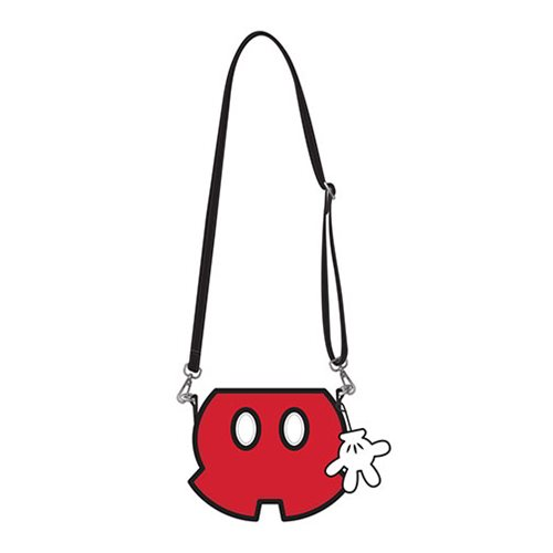 Mickey Mouse Shorts Crossbody Purse