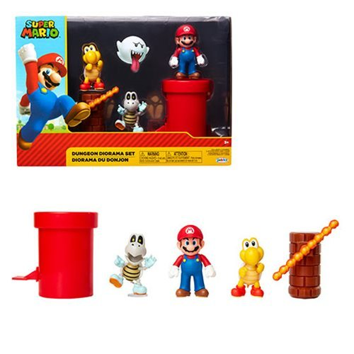 World of Nintendo 2 1/2-Inch Dungeon Diorama Playset