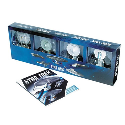 Star Trek Enterprise Die-Cast Vehicle 4-Pack with Magazine #4, Not Mint