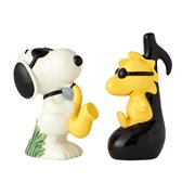 Peanuts Snoopy and Woodstock Salt and Pepper Shaker Set