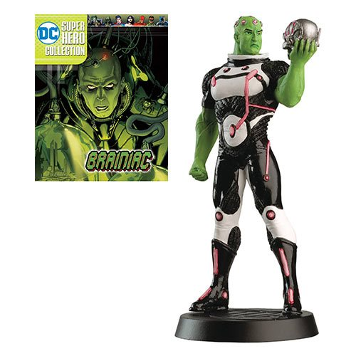 DC Superhero Best Of Brainiac Figure with Collector Magazine #55
