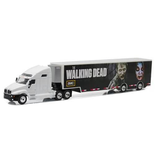 The Walking Dead TV Series Kenworth T2000 Hauler 1:64 Scale Die-Cast Metal Vehicle