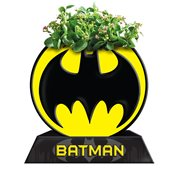Batman Circle Bat Logo Ceramic Planter