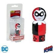 Justice League Harley Quinn Pin Mate Wooden Figure