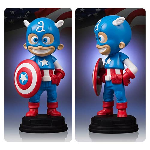 Captain America Marvel Skottie Young Statue