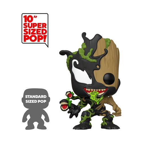 Marvel Venomized Groot 10-Inch Pop! Vinyl Figure