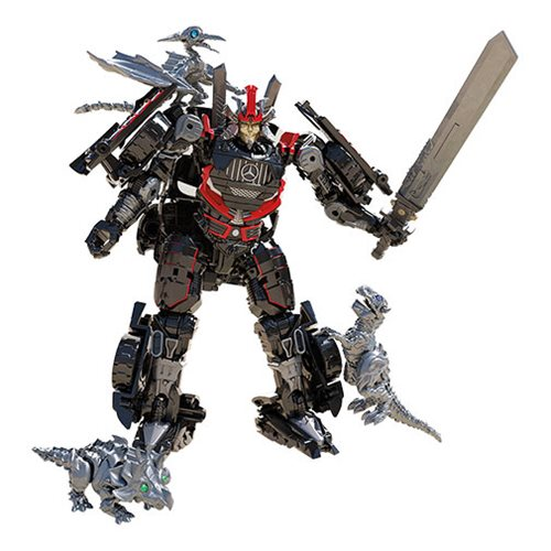 Transformers Studio Series Deluxe Drift with Baby Dinobots Sharp-T, Pterry, and Tops - Exclusive