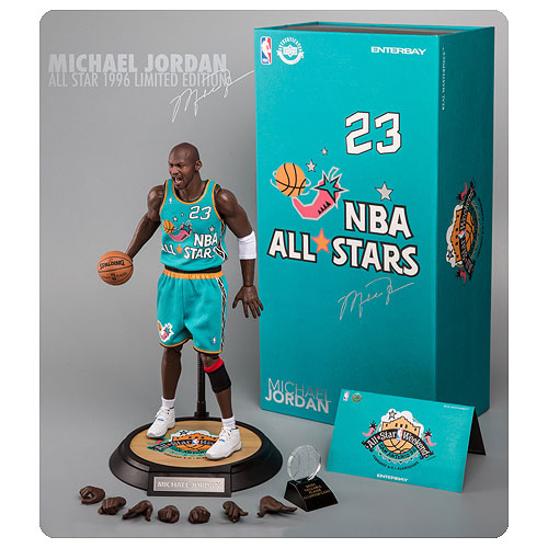 NBA Michael Jordan 1996 All-Star Game 1 6 Scale Real Masterpiece Action  Figure d6f7f9de9