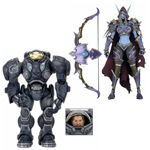 Heroes of the Storm 7-Inch Series 3 Action Figure Set