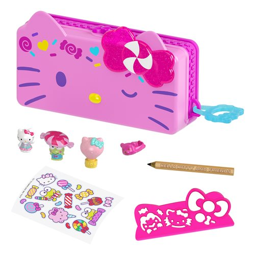 Hello Kitty and Friends Minis Carnival Pencil Box Playset