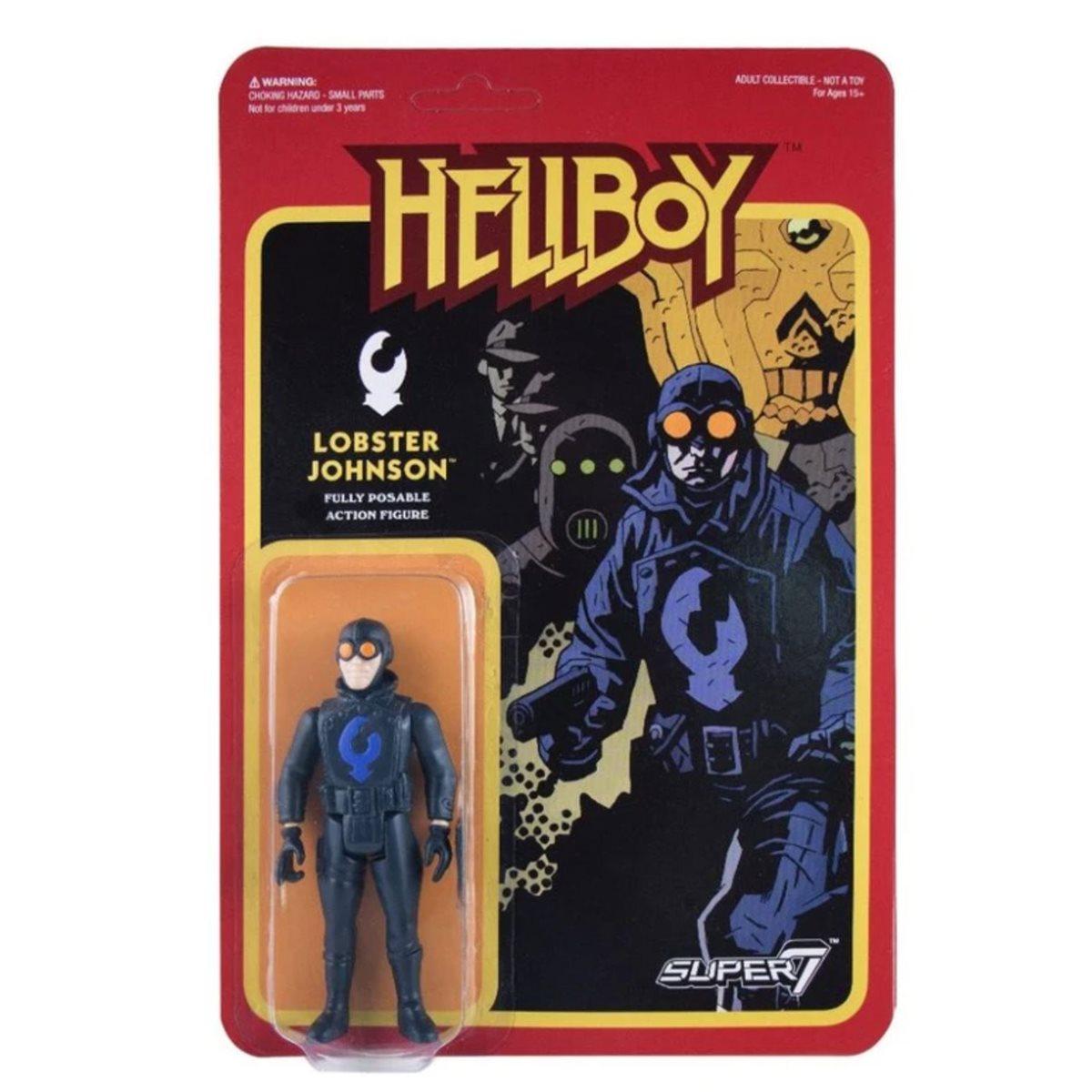Abe Lobster Liz Sherman SALE! Super7 Hellboy ReAction Action Figure Set 3
