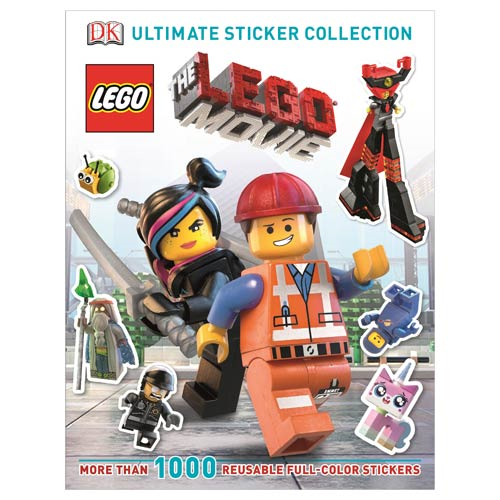 The LEGO Movie Ultimate Sticker Collection Book