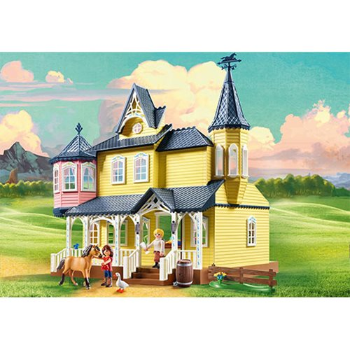 Playmobil 9475 Spirit Lucky's Happy Home