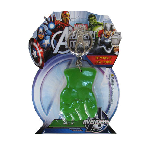 Hulk's Fist 3-Inch Bendable Key Chain