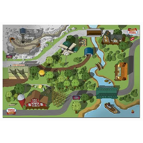 Thomas the Tank Engine Wooden Railway Island Playboard