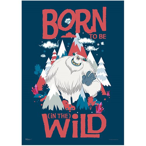 Smallfoot Born to be Wild MightyPrint Wall Art Print