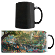 Disney Jungle Book Thomas Kinkade Studios Morphing Mug