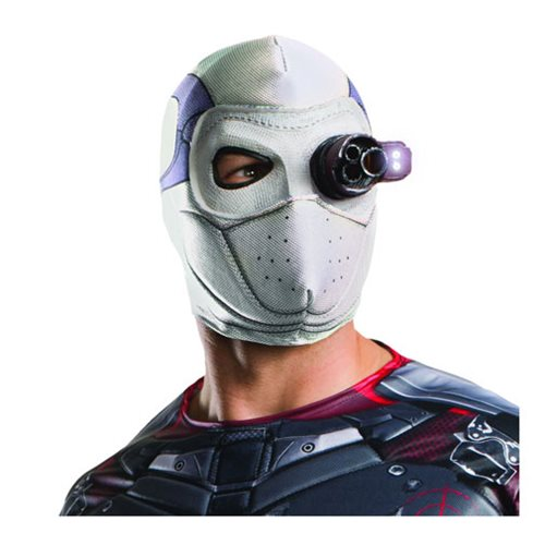 Suicide Squad Deadshot Deluxe Light-Up Latex Mask