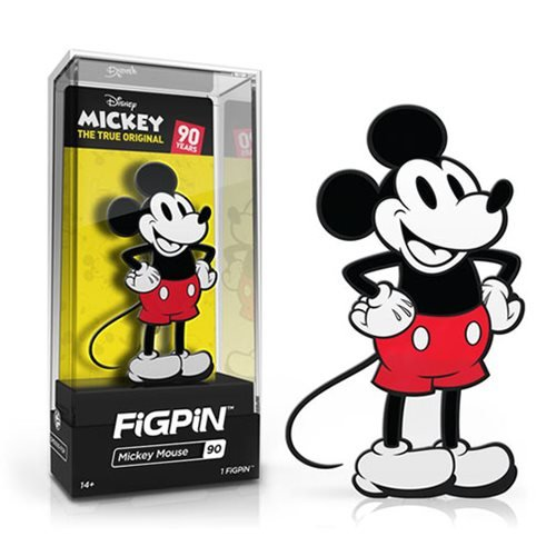 Mickey Mouse 90th Anniversary FiGPiN Enamel Pin