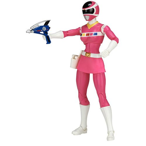 Power Rangers In Space Legacy Pink Ranger Action Figure