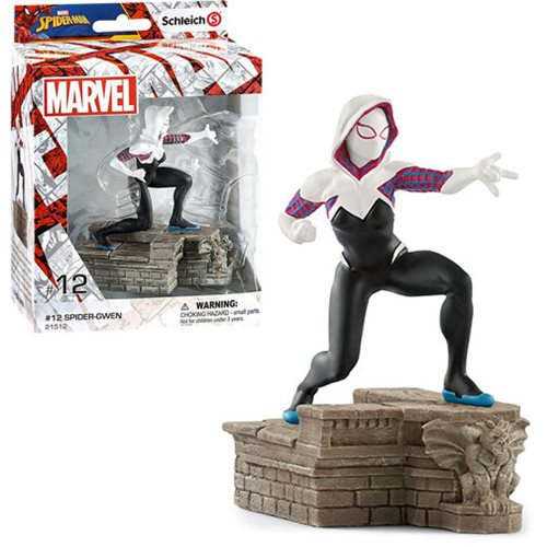 Marvel Comics Spider-Gwen Diorama Collectible Figure #12