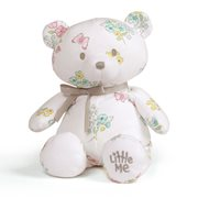 Little Me Floral Teddy Bear 10-Inch Plush