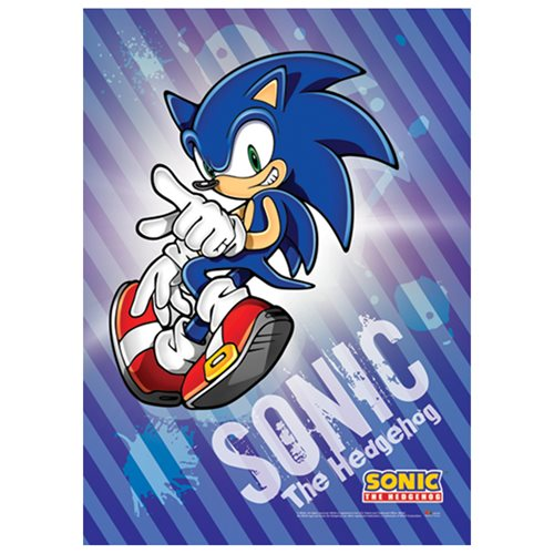 Sonic the Hedgehog Sonic Wall Scroll