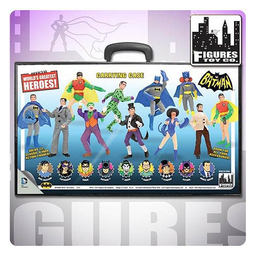 Batman Retro Action Figures Carry Case