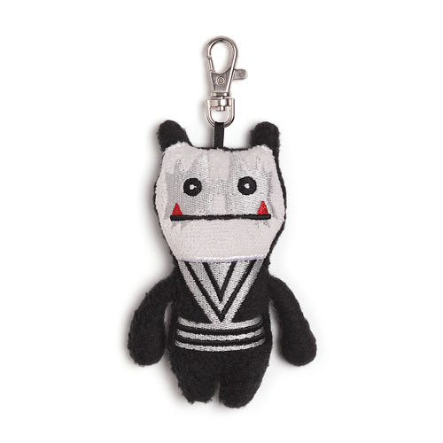 KISS Spaceman Uglydoll Wage Clip-On Backpack Plush