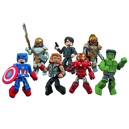 Marvel Minimates Series 45 Case