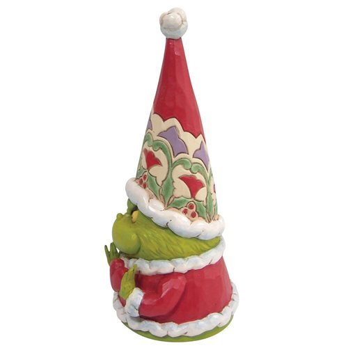 Dr. Seuss The Grinch Grinch Gnome with Large Heart by Jim Shore Statue
