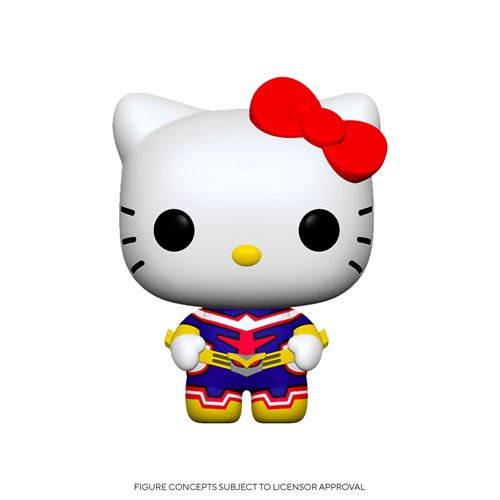 Sanrio x My Hero Academia Hello Kitty x All Might Pop! Vinyl Figure