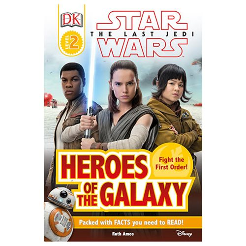 Star Wars: The Last Jedi Heroes of the Galaxy DK Readers 2 Paperback Book