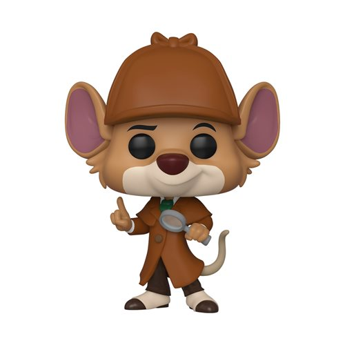 The Great Mouse Detective Basil Pop! Vinyl Figure