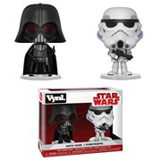 Star Wars: The Empire Strikes Back Darth Vader and Stormtrooper VYNL Figure 2-Pack