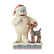 Rudolph the Red-Nosed Reindeer Bumble with Rudolph Statue by Jim Shore