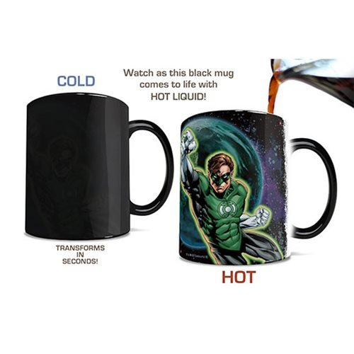 Green Lantern In Brightest Day Heat-Sensitive Morphing Mug