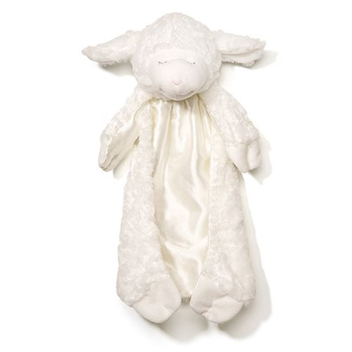 Winky Lamb Huggybuddy White Plush Blanket